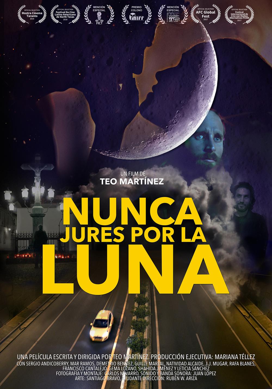 largometraje: nunca jures por la luna pliegues