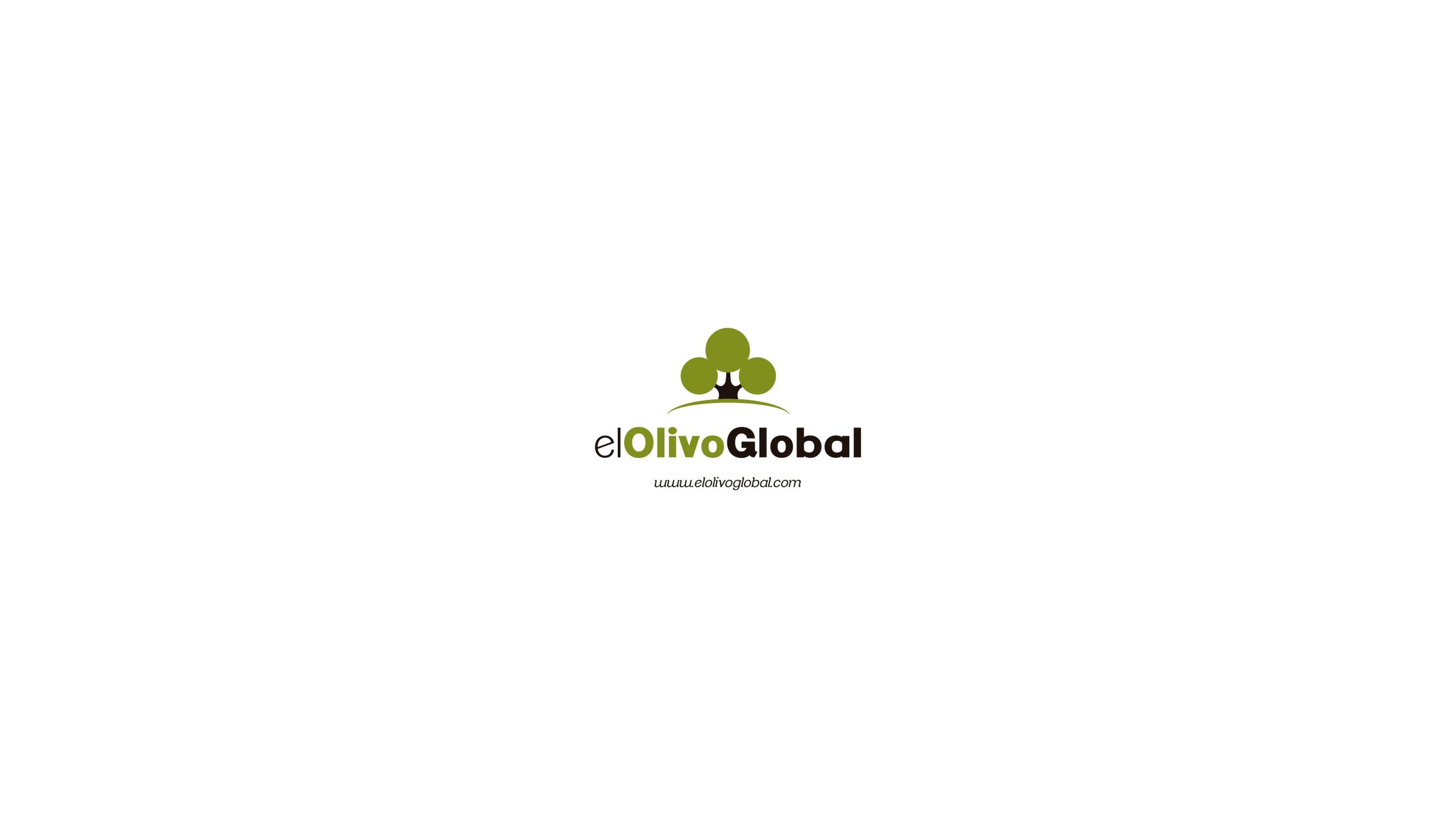 logotipo el olivo global Pliegues