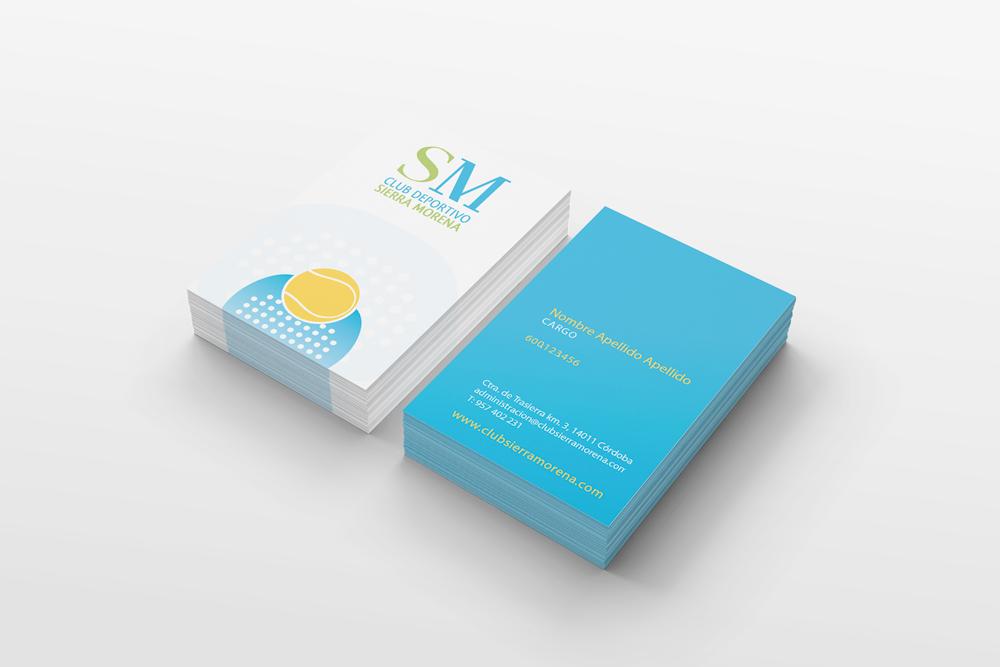 Manual de identidad Club Sierra Morena Pliegues